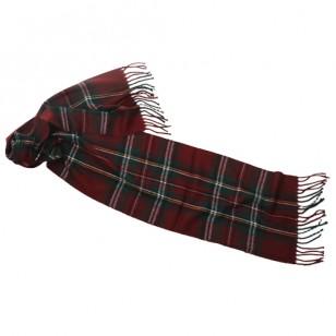 Bufanda acrílica fleco largo