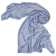 Foulard mixto estampado