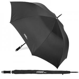 FERRÉ MILANO UMBRELLA WITH AUTOMATIC OPENING, POLYESTER TASLON COVERAGE